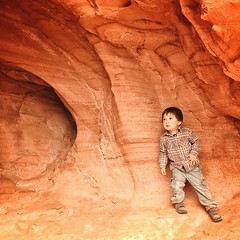 He is soooo big in this picture.  #ohluka #valleyoffire by malimish_marlene