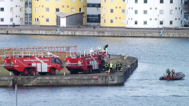 London City Airport Rescue (6) @ KGV Dock 02-02-15