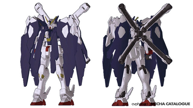 HGBF Crossbone Gundam X1 Full Cloth Ver.GBF