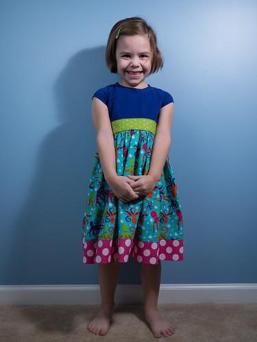 Modeling dress #2