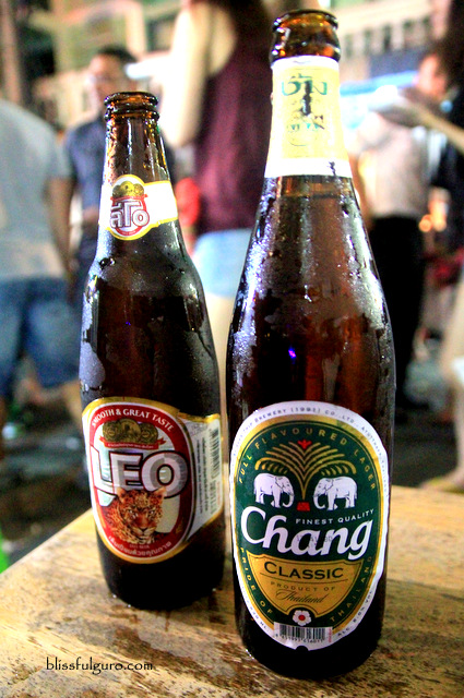 Chang Beer Khao San Road Bangkok