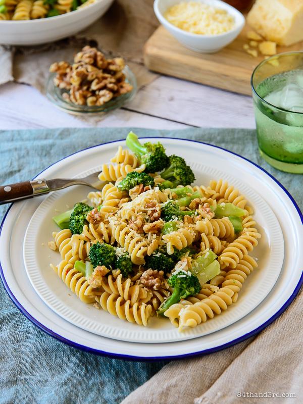 Secret Ingredient Broccoli & Parmesan Pasta