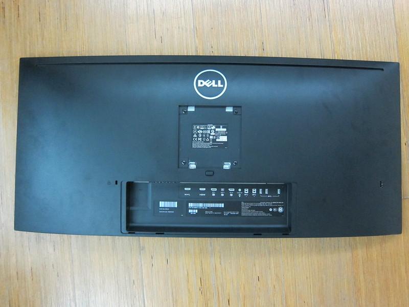 Dell UltraSharp 34 Curved Monitor (U3415W) - Monitor Back