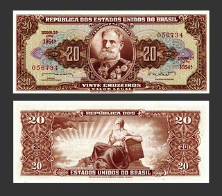 Brasil 20 Cruzeiros - 1960s