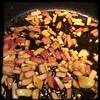 Cucina Dello Zio #homemade #pork #peppers and #paprika #CucinaDelloZio - Remove pork and sauté onions & garlic