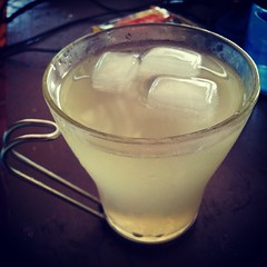 Kenji's refreshing iced #lemonade ♥ #beverage
