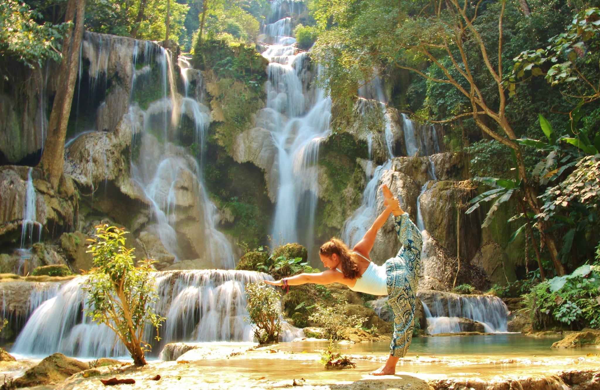 Elephants & Waterfalls