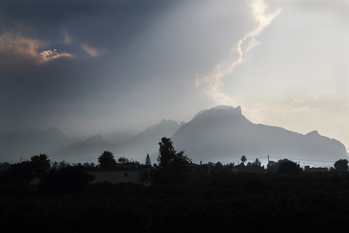 IMG_2316 Sky over the mountains,Costa Blanca