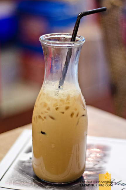 Iced Coffee at Martabak Cafe in MOA