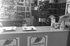 Oahu - Green World Coffee Farms display