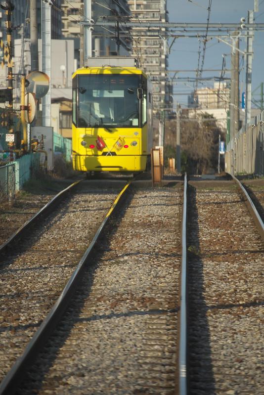 Tokyo Train Story 都電荒川線 2015年3月5日