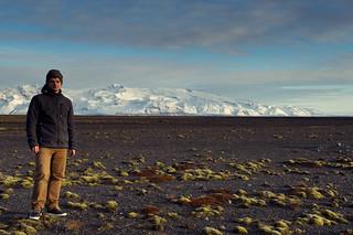 Selfie vor dem Gletscher Öræfajökull | Roland Krinner