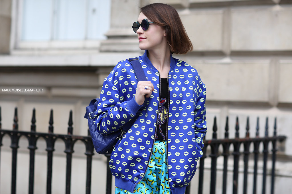 Ella Catliff at London Fashion Week