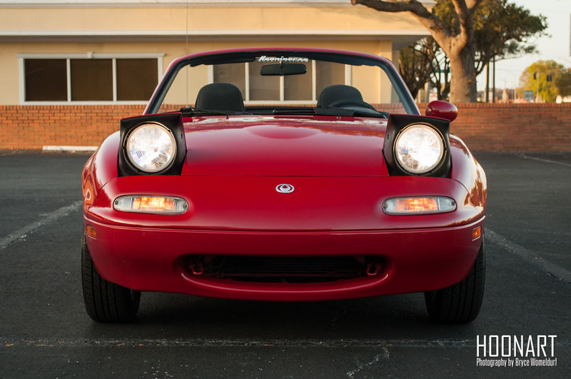 Miata front end photo.
