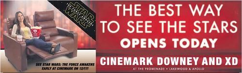 Los Angeles cinema grand openings