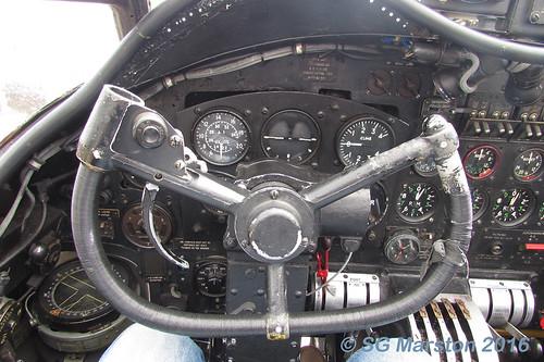 Avro Lancaster B VII Control Panel