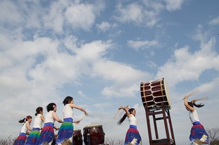 Sprits of Taiko drums