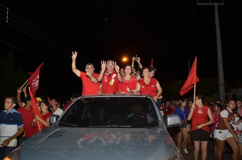 Onda Vermelha em Jaguaruana É13 #AnaTeresa13