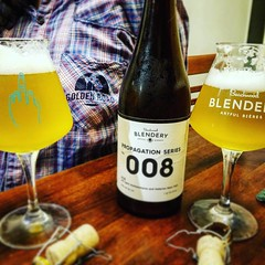 @beachwood_blendery and their best friends @goldenroadbrew in one place. #PropagationSeries #008 #1love #HallertauBlanc #BestFriends #ShootingBlancs