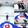 "This is ""true north"" Canadian VC team building #curling @inoviacapital team retreat"