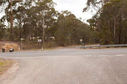 Bloodwood Rd Former Alignment