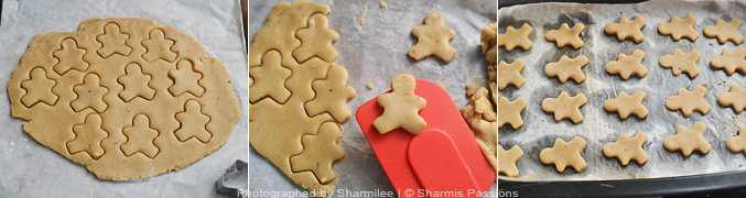 How to make Gingerbread Man Cookies - Step6
