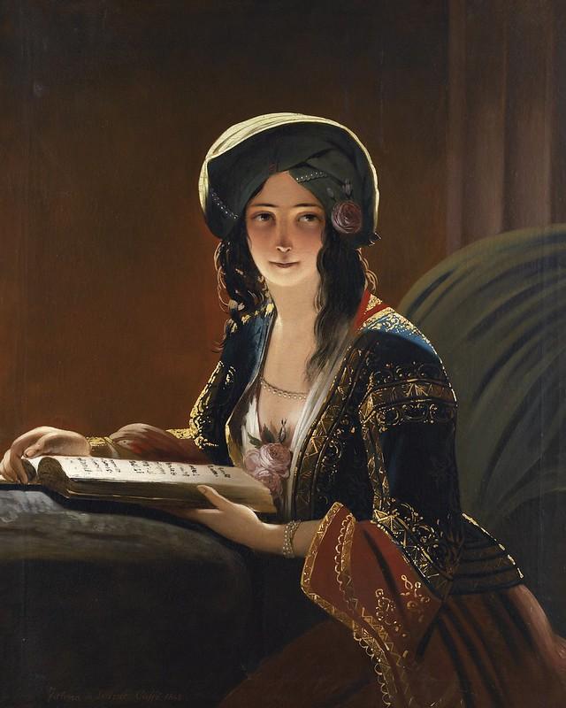Ippolito Caffi - Fatima di Smirne (1843)