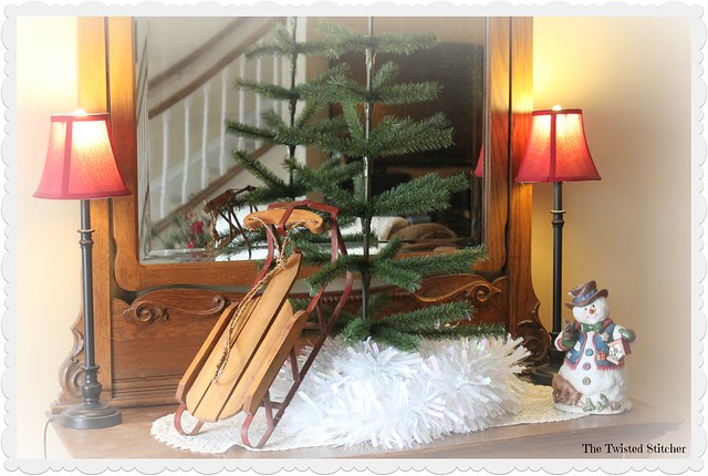 Tree and Sled