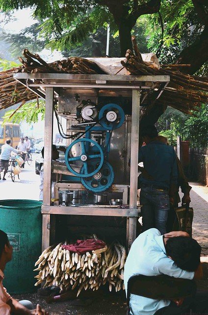 Mumbai - Sugarcane juice vendor | A Brown Table