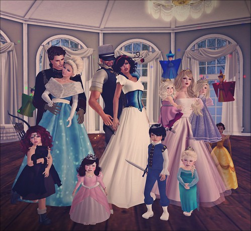A Princess Party For Princess Tess