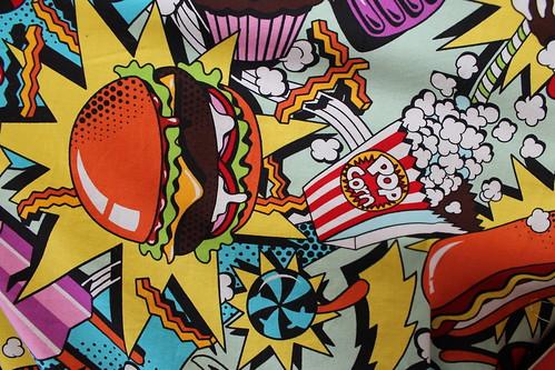 junk food print