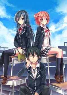 Yahari Ore no Seishun Love Comedy wa Machigatteiru [Bản Blu-ray] - Tuổi trẻ lãng mạn, hài hước của tôi đúng là sai lầm như dự đoán! [BD] | My Teen Romantic Comedy SNAFU [BD] | Oregairu, My youth romantic comedy is wrong as I expected [BD] | Yahari Ore No Seishun Love Come Wa Machigatteiru [BD]