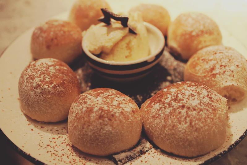Pizza Express snowball dough ball