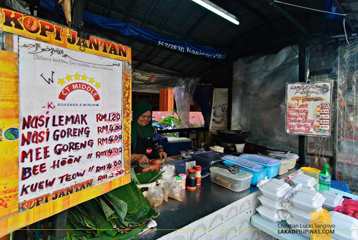 Streetfood Stall at Chinatown Kuala Lumpur