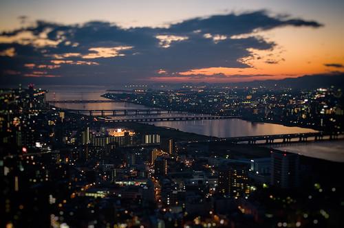 travel japan 大阪 osaka nightscene 旅行 ricoh gxr grlensa1250mmf25macro