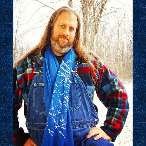 That's right, folks! It's Winter Selfie Season! Brace yourselves! #overalls #winter #vintage #Lee #scarf #longhairdontcare