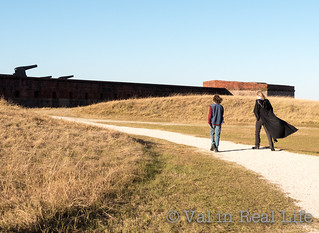 fort clinch state park - val in real life