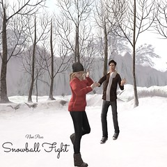 nani - snowball fight