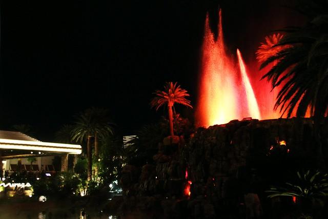 Mirage Volcano Erupting