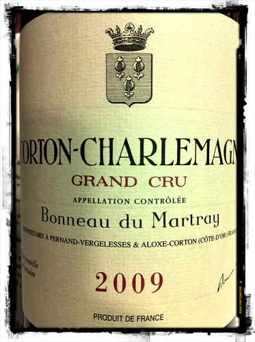 Corton-Charlemagne Bonneau du Martray 2009