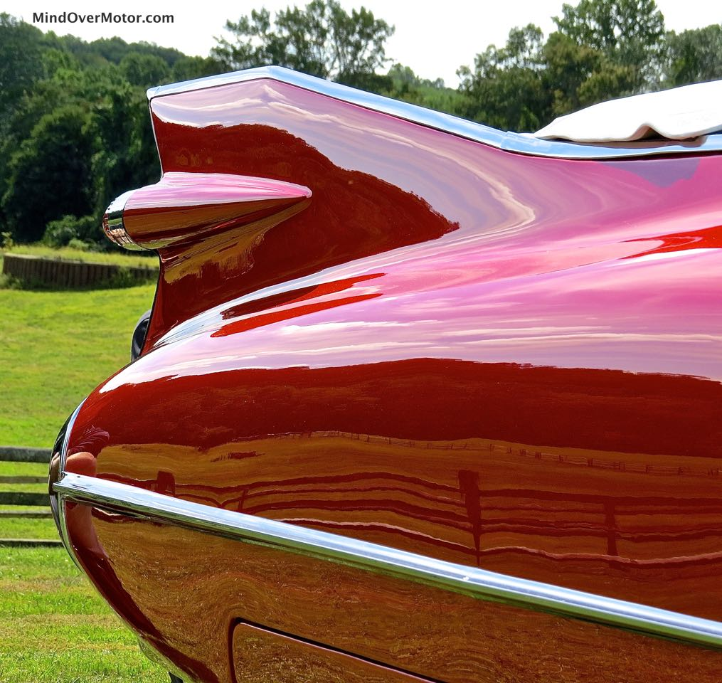 1959 Cadillac Series 62 Rear Fender