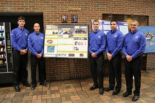Gear Housing Joint Design Team with poster