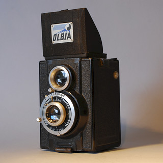 Olbia Type VI Olbia with Olbia Anastigmat in Gitzo 400 shutter  3