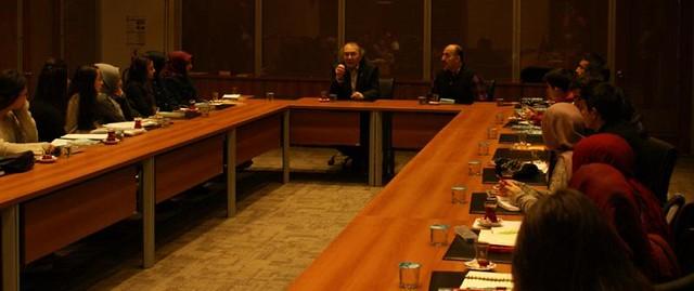 Sakarya Cemil Meriç öğrencileri Prof. Dr. Nevzat Tarhan ile görüştü…