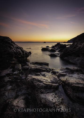sunset sea clouds twilight rocks devon lowtide torquay meadfoot theenglishriviera rtaphotography