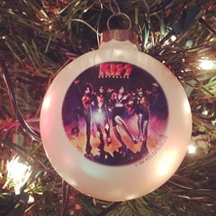 This goes on our tree every year! #KISS #merrykissmas #ornaments #Christmas