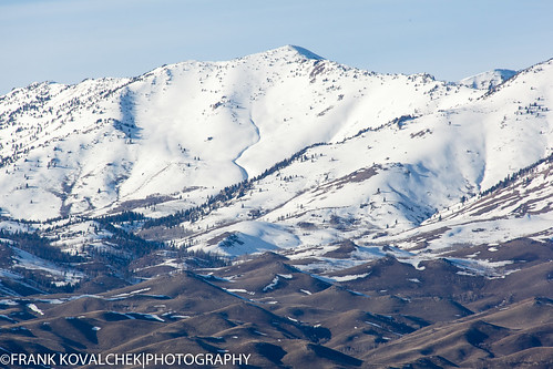 Soldier Mountain area in South Central Idaho
