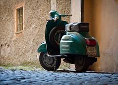 Vintage Roman Vespa