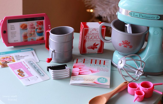 American Girl Doll Girl of the Year GOTY 2015 Grace Thomas Baking Set Review