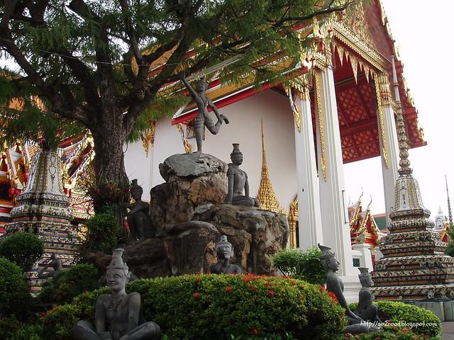 Вт Пхо, Тайланд